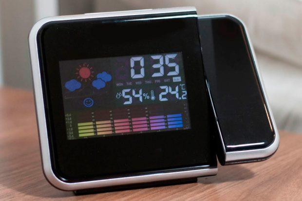 Проекционные часы с погодой