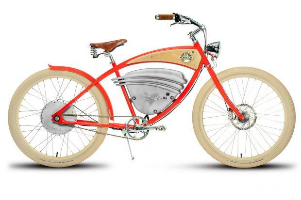 Электровелосипед Vintage Electric Cruz