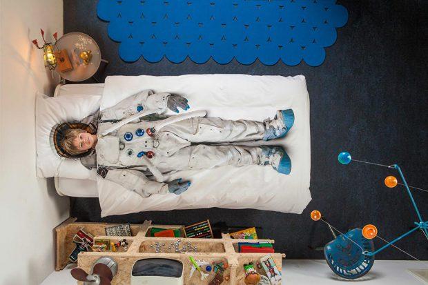 """Комплект постельного белья """"Астронавт"""" 150х200 cм"""