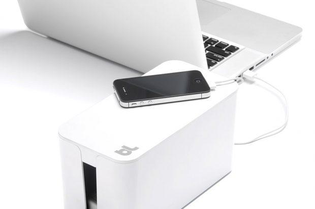 Органайзер для проводов CableBox Mini белый