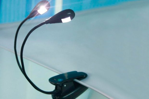 Закладка-фонарик для книг