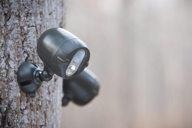 LED прожекторы NetBright для создания беспроводного освещения периметра