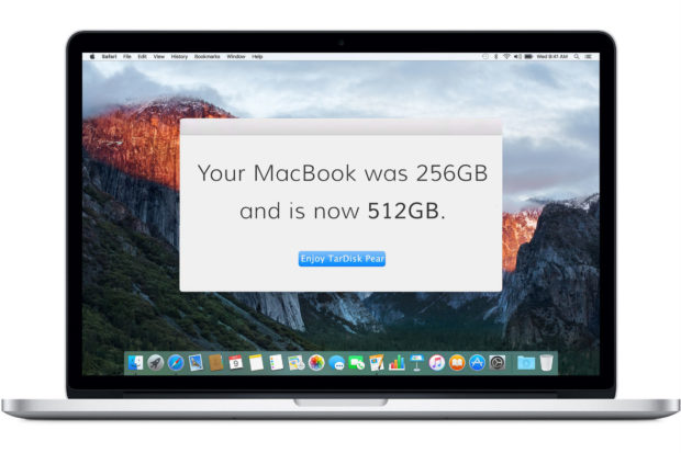 TarDisk: – портативное устройство увеличения памяти Macbook