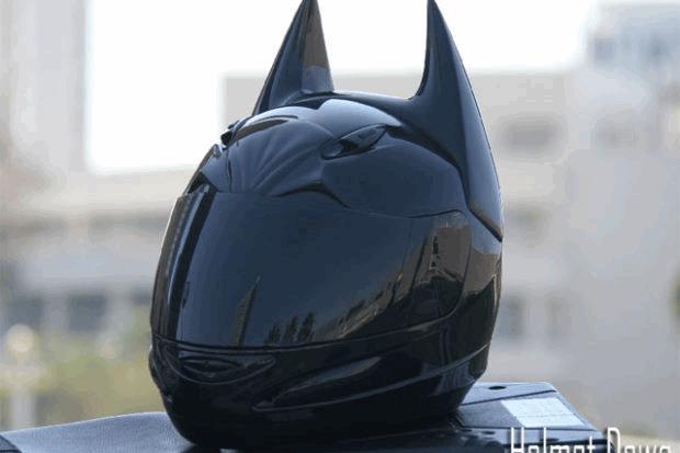 Мото шлем Бетмена