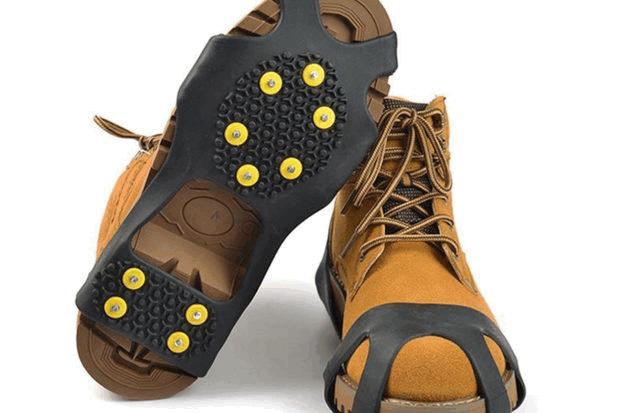 Шипованная подошва для обуви
