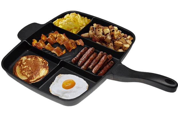Сковорода с отдельными секциями