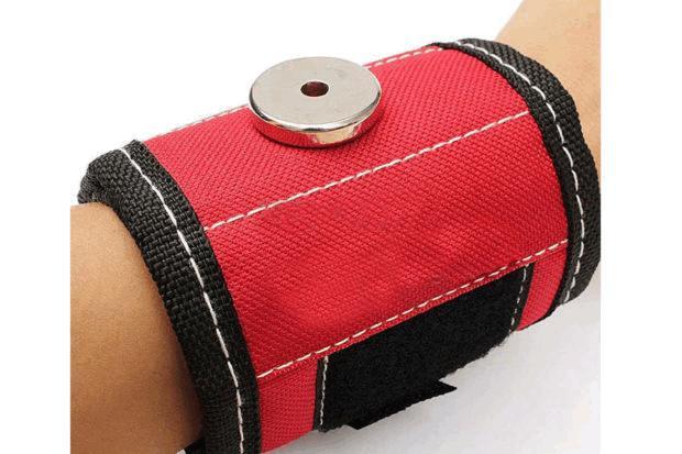 Строительный магнитный браслет