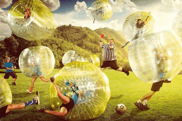 Бампербол: что это за вид развлечения?