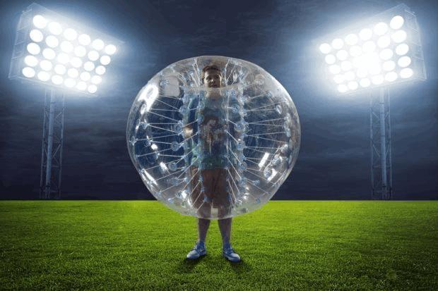 Шары для бампербола (bumperball)