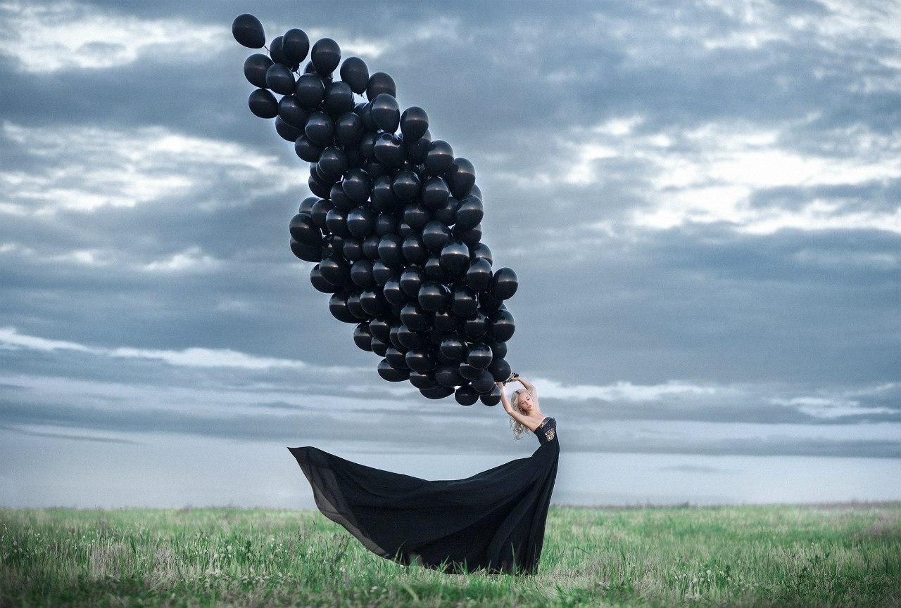 всеобщем картинки с черными воздушными шариками уже абсолютно ничего