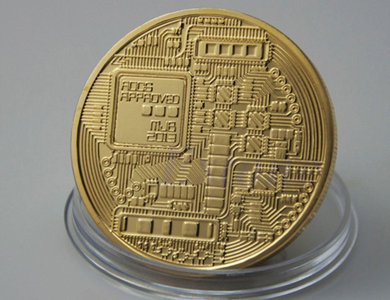 Сувенирная монета биткоин bitcoin срок за биткоин
