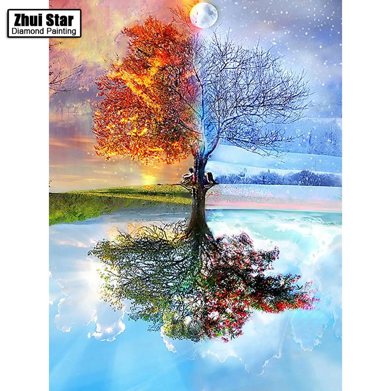 """Картина: """"дерево"""" или """"4 сезона"""""""