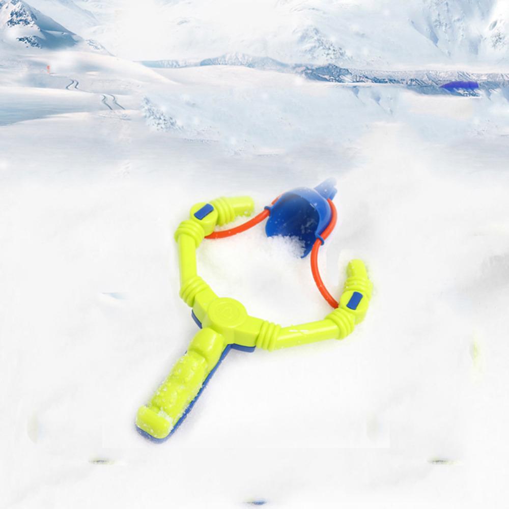 Рогатка: метатель снежков