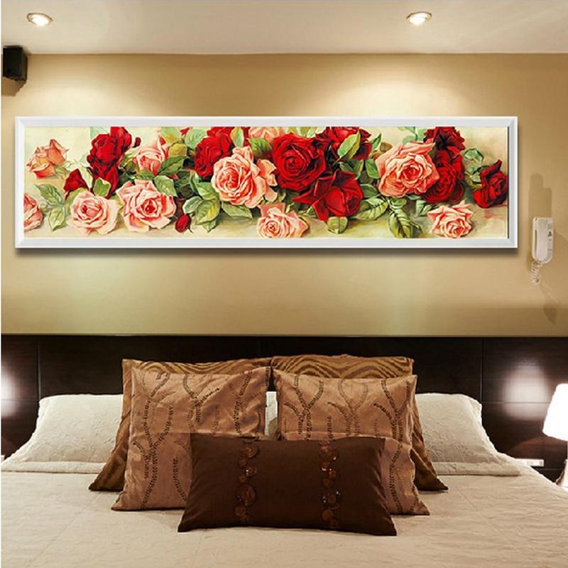 Розы: алмазная вышивка